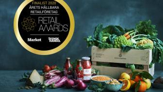 Årstiderna nominerade till Årets hållbara företag