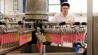 Bild från Glassfabriken i Sävedalen