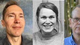 Per Snaprud, Karin Gyllenklev, Per Jensen och Camilla Andersson tilldelas Natur & Kulturs populärvetenskapliga arbetsstipendium 2017