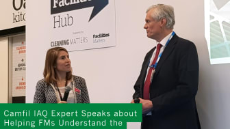 Cathy Hayward interviews Camfil's Peter Dyment at The Facilities Event