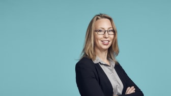 Emma Fernlöf från Hogia är en av talarna på kollektivtrafikmässan IT-Trans i Karlsruhe i början av mars.