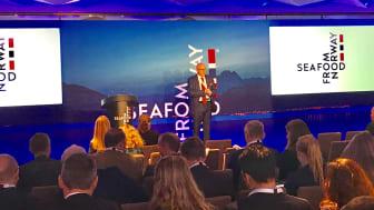 """Rekordmange deltok på """"UK-Norwegian Seafood Summit"""" i London (Foto: Norges sjømatråd)"""