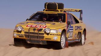 Peugeot återvänder till Dakarrallyt efter 25 år - Peugeot 405 T16 Grand Raid