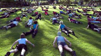 Gympa, Zumba, Pilates och annat kul i Stadsparken i sommar