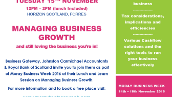 Free lunch for businesses looking to grow
