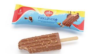 Hennig-Olsen Is og Freia fortsetter suksessen – nå kommer Freia Firkløver som iskrem