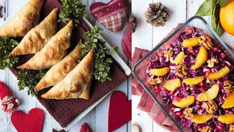 Fira en hållbar jul med en vegansk eller en vegetarisk matkasse