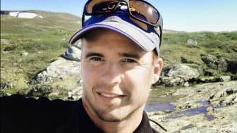 Dan Näslund är innovatören bakom Lurep – en hållare för fiskedrag
