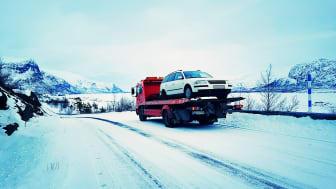 Falck tipsar – Kontrollera bilen när du ska på sportlov