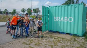 Aktivitetsparken i Vilunda har blivit en populär mötesplats bland barn och ungdomar
