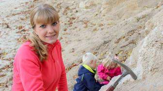 Elisabeth Einarsson, Årets geolog 2018.