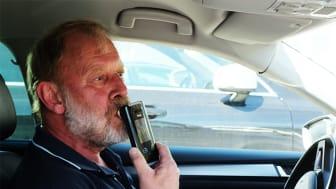 Per Arne Velten, eier av Velten Taxi og sjåfør i Seljord.