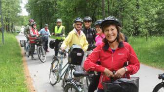 Äntligen säsong igen för nya hälsosamma cykelturer till kulturmål i  Stockholm med omnejd.