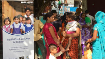 Blueair Health Check-up Camp in Badlipur, Delhi