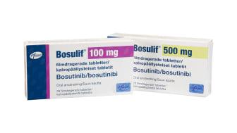 Bosulif 100mg och 500 mg