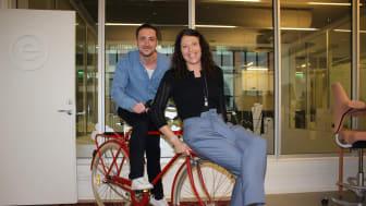 Nya medarbetare på Eminent är formgivaren Vedran Besirevic och projektledaren Carin Paulsson.