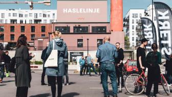 God stemning! Buddy Bike, Samme Vei, sykkelreparatører fra Fossheim og bysykkelrepresentanter fra Bymiljøetaten. I tillegg stilte Sterk Helse med treningstips og Pipa Cafe bød på lunsj sammen med De Tre Stuer.