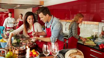 Matlagningskvällar i Miele Experience Center
