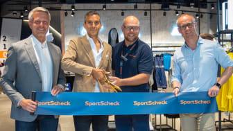 Hamburg feiert neuen Treffpunkt für das Erlebnis Sport:  Über 1.000 wartende Kunden bei SportScheck Wiedereröffnung