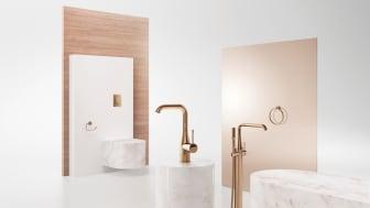 GROHE Colours Collection giver den størst mulige kreative frihed til at individualisere dit badeværelse.