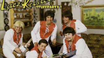 "Omslag - Larz-Kristerz ""Stuffparty 3"""