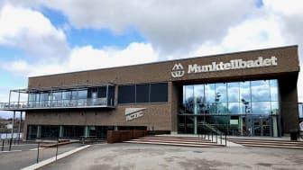 Munktellbadet - här avgörs första hållbara svenska mästerskapen i simning