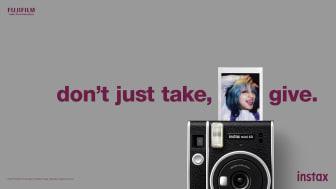 """Fujifilm lanserer den """"tidlösa"""" instax mini 40"""