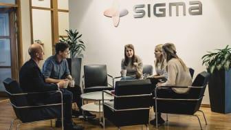 Sigma Technology är ett av tio bolag nominerade till Stora IT-kompetenspriset. Bild: Carl Björklund