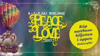Nattbussar under Peace & love