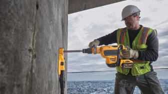 DEWALT Announces New FLEXVOLT® 60V MAX* SDS MAX Combination Hammer