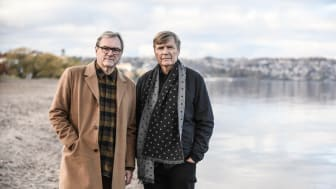 Peter Sandwall och Lars Mörlid gör sin 39:e julturné 2019. Foto: Andreas Joakimson
