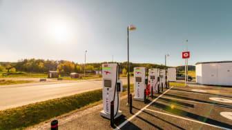 Öar i topp när Circle K rankar Sveriges främsta elbilslän och kommuner