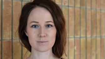 Frida Skog, doktorand vid Sociologiska institutionen vid Umeå universitet. Foto: Ragnar Lundström. Bilden är fri för publicering.