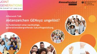 JOINT GENERATIONS lädt zum After-Work-Talk in die Zukunftsarena des BMBF