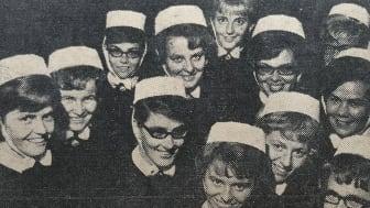Betaniasystrar utbildade på Betaniastiftelsens sjuksköterskeskola. Foto: Arkiv