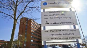 S:t Görans sjukhus borde kopieras, anser Timbro. (Bild: Capio)