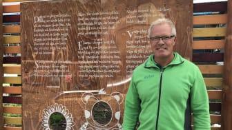 Förbos vd Peter Granstedt avslöjade namnet på aktivitetsparken