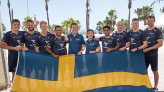 Det svenska herrlandslaget är klar för semifinal i EM!