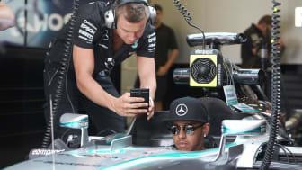 MERCEDES AMG PETRONAS vinner återigen konstruktörsmästerskapet i Formel 1 med ebm-papst som Team Partner