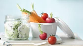 Tzatziki med yoghurt