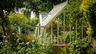 Botanic terrasse är en av våra vackra modeller med det införlivade ingångspartiet.