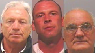 McDonough Snr, McDonough Jnr and McFadyen