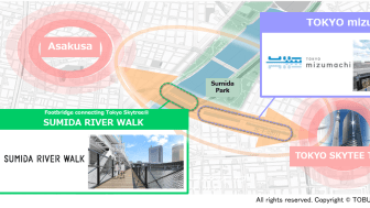 TOKYOmizumachi-SUMIDA RIVER WALK MAP