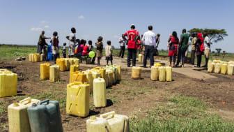 Viva con Agua Kampala auf ersten Projektbesuch in Moroto und Karamoja November 2015