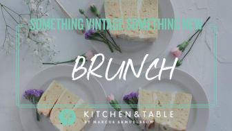Kitchen & Table Kungsholmen bjuder in till brunch i samband med årets bröllopsmässa!