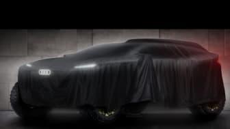 Audi kör eldrivet i Dakarrallyt 2022