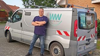 Hans-Jörg Thiele seit 40 Jahren bei Westfalen Weser