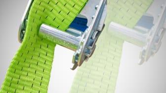 Ergolash patenterade short end gör att surrning av gods går både lättare och snabbare än med traditionella spännband.