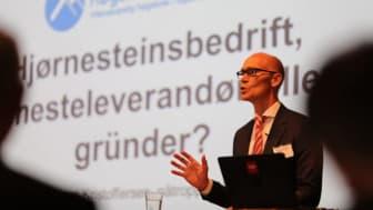 Rektor Steinar Kristoffersen kan glede seg over gode søkertall til Høgskolen i Molde.