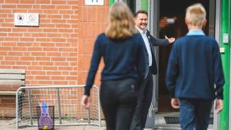 Pierre Åkerblom, rektor vid Nordic International School Trollhättan